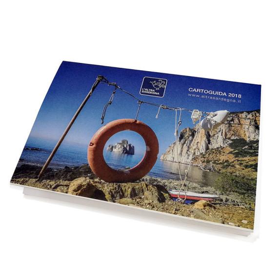 L'altra Sardegna cartoguida 2018 cover