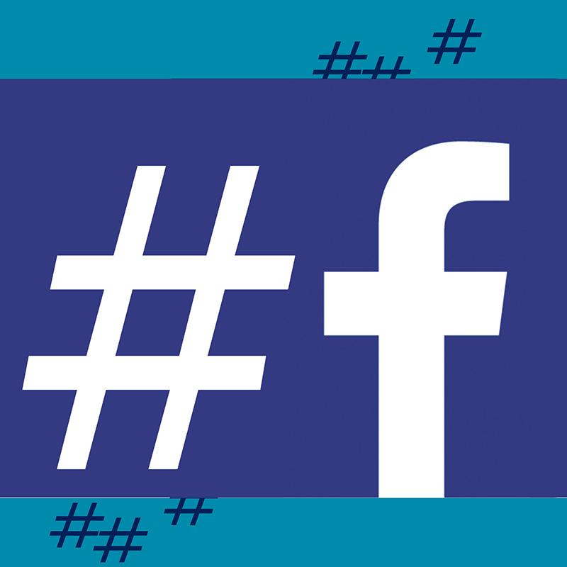 facebook hashtag si o no social web